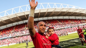 Simon Zebo played his last game at Thomond for the Reds