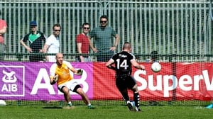 Adrian Marren side-footed home a first half penalty to give Sligo a commanding lead