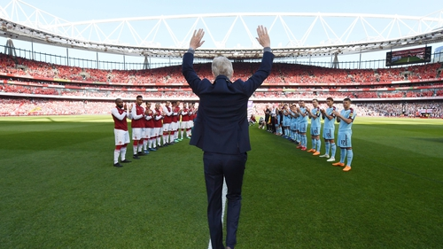 """Arsene Wenger: """"I think I guided the club through the most difficult period in a very successful way."""""""
