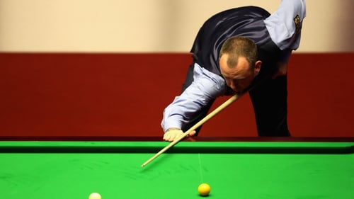 Williams in action in Sheffield