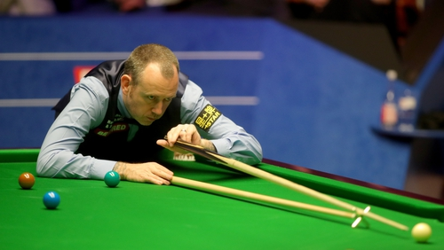 Mark Williams was in deep trouble