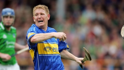 Ger 'Redser' O'Grady in action for Tipperary in 2006