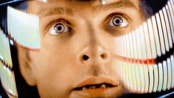 Keir Dullea in Stanley Kubrick's 2001: A Space Odyssey