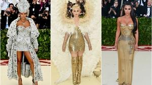 Rihanna, Katy Perry & Kim Kardashian in their 'Heavenly' dresses
