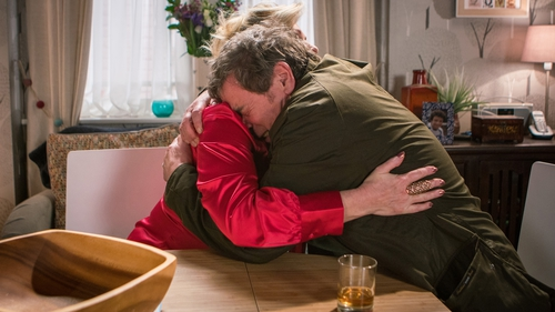 Johnny is desperate to understand Aidan's motive for suicide