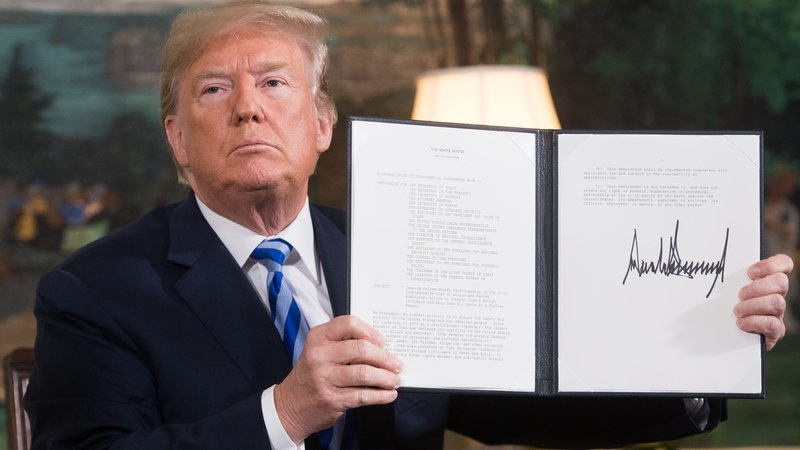 Image result for donald trump iran nuclear deal