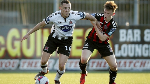 Dylan Connolly was on the mark twice for Dundalk