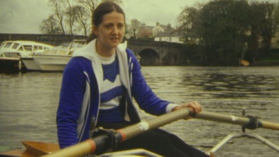 Sculler Frances Cryan, Carrick-on-Shannon, County Leittim (1983)
