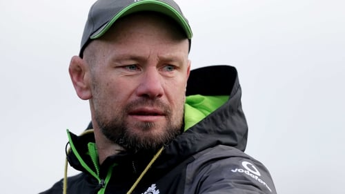 Andy Farrell, Simon Easterby, Greg Feek and Richie Murphy extend Ireland contracts