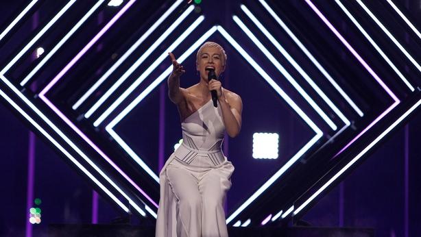 Singer SuRie of United Kingdom