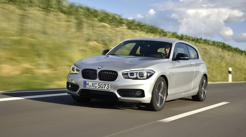 the bmw 1 series is one of the models affected