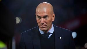 Zinedine Zidane's men are 13 points behind leaders Barcelona,