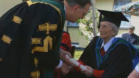 Honorary Degree At 103