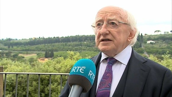 "President of Ireland Michael D Higgins: ""2018 will only be the second occasion when a sitting President faces a contest"""