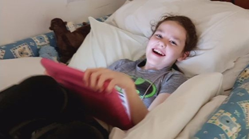 Sophie, who has autism, was originally admitted to hospital last July after a seizure