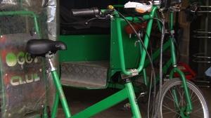 Rickshaws seized by gardaí in Dublin city centre
