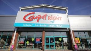 Carpetright said its revenue for the year to April 27 fell by 13.4% to £386.4m