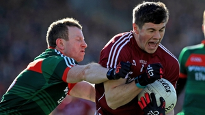 Colm Boyle and Shane Walsh (R) are braced for battle