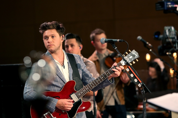 Niall Horan with the RTÉ Concert Orchestra