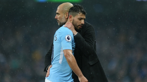 There have been reports Aguero's former club Atletico Madrid are preparing an offer to lure the 29-year-old Argentina striker back to the Spanish capital.
