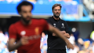 Klopp keeps an eye on Salah