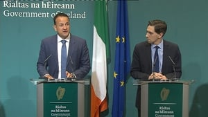 Leo Varadkar and Simon Harris gave a press conference on the issue this afternoon