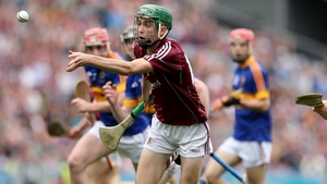 Brian Concannon in action for the Galway minors