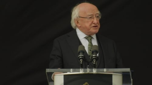 President Higgins said Irish people cannot be indifferent to the needs of others