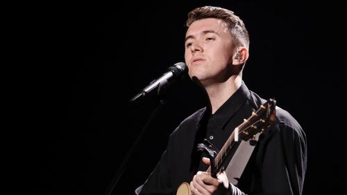 Ryan O'Shaughnessy represented Ireland in Eurovision 2018