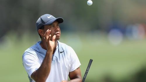 Tiger Woods was on fire on Saturday