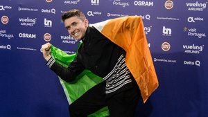 A proud Irish man