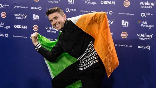 A proud Irish man