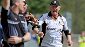Cats boss Brian Cody shows his emotion on the sideline