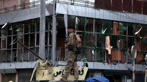 Local officials have said Afghan security forces battled for hours against the group of attackers
