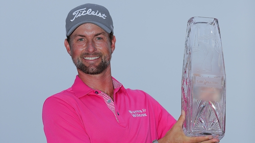 Simpson in four-stroke win at Players Championship