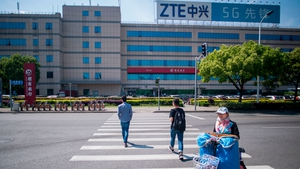 ZTE had been hit by a seven-year US ban in April that had crippled its operations
