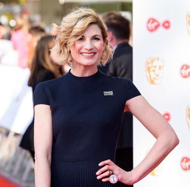 Jodie Whittaker attends the Virgin TV British Academy Television Awards at The Royal Festival Hall
