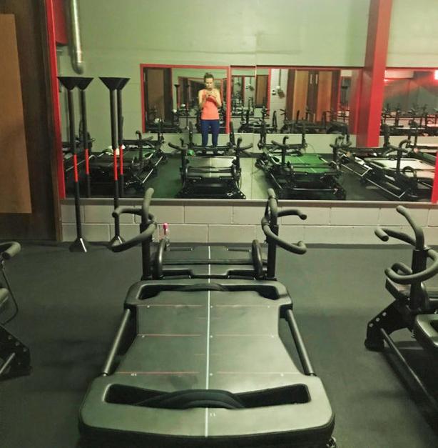 Journalist Liz Connor tries out Meghan Markle's favourite workout (Liz Connor/PA)