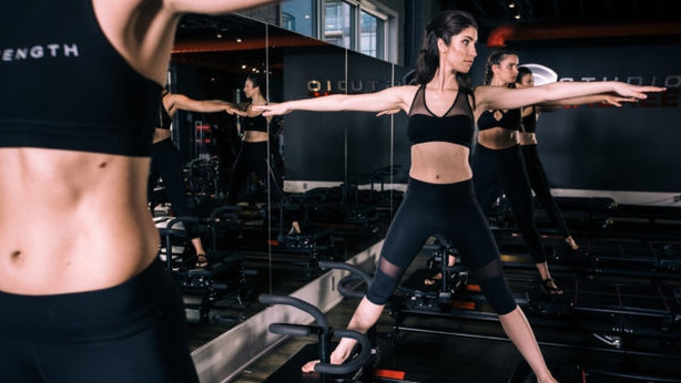 Prepare to sweat throughout the 50-minute session (Studio Lagree/PA)
