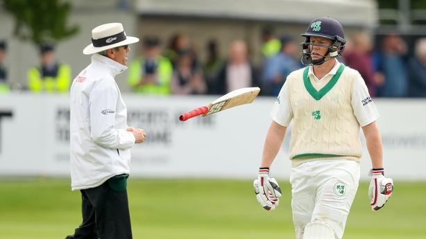 Ireland's Test cricket debut falls short as nervy Pakistan claim victory