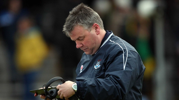 Ray Boyne worked with the Dublin footballers for 13 years, he's now switched codes and is with the Dublin hurlers.