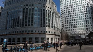 Thomson Reuters' offices in Canary Wharf, London