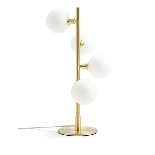 Marks and Spencer M&S dexter gold brass lamp light