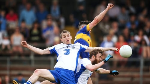 Waterford's Maurice and Thomas O'Gorman battle with Michael Quinlivan of Tipperary during the last Munster clash in 2016