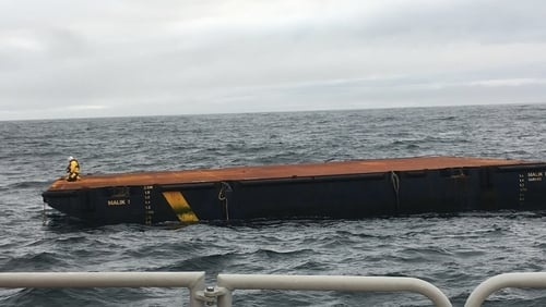 The vessel had travelled more than 3,000 kilometres since it was last seen