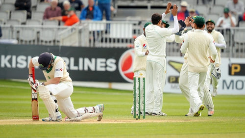 Ireland's Test cricket debut falls short as nervy Pakistan claim victory