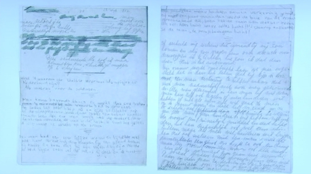 Hidden Pages From Anne Frank S Diary Published