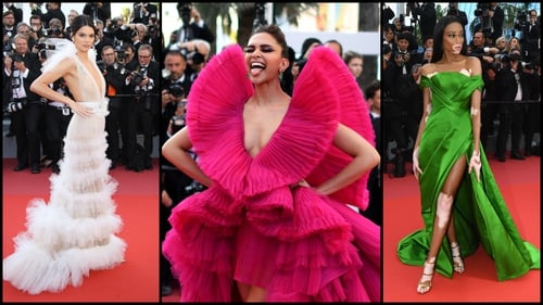 f98ec5960 Here's what the celebs are wearing to the Cannes Film Festival