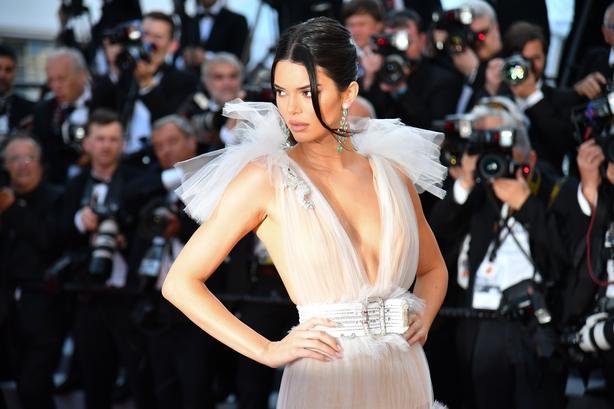 Kendall Jenner inSchiaparelli Haute Couture