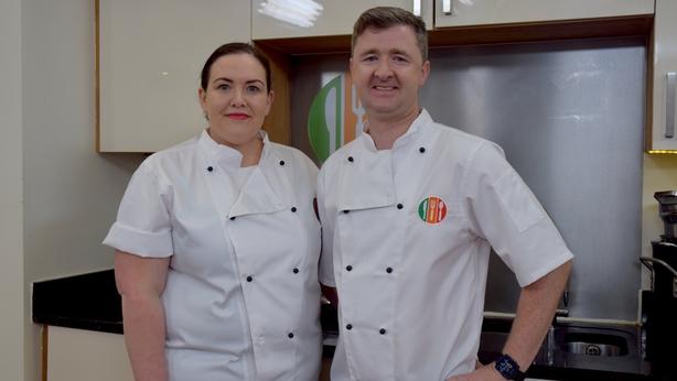 Jess Murphy and Gareth Mullins